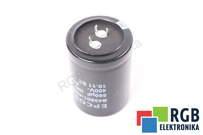 B43504-A9337-M 330UF 400VDC CAPACITOR EPCOS ID16384