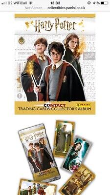 Harry Potter Panini Contact Trading Cards Various Numbers Bundle