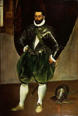 El Greco Vincenzo Anastagi Giclee Canvas Print Paintings Poster Reproduction
