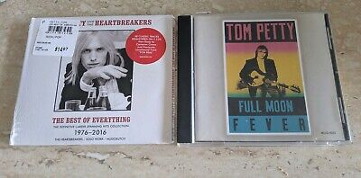 2 Tom Petty 'The Best Of Everything 1976-2016 2 Cd Sealed & Full Moon Fever +