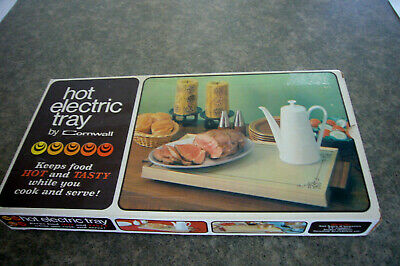 Avocado Green CORNWALL hot electric warming tray  NEW IN BOX Pristine!