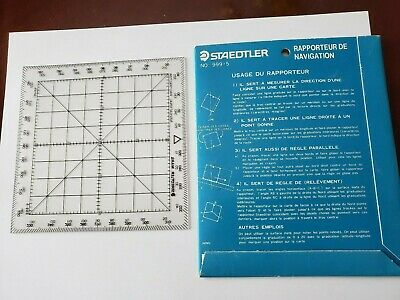 Navigational Protractor Made by Staedtler Mars