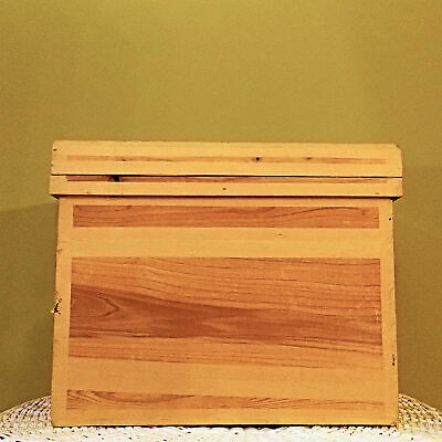 Vintage Japanese Chabako Tea Chest Cedar Crate Storage Box 25kgA
