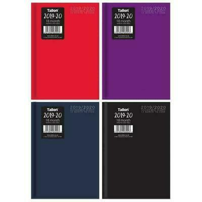 2019-2020 A5 Academic Mid Year Diary Week to View Hardback Casebound 18 Month