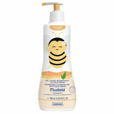 Mustela Nourishing Cleansing Gel Bee 500ml Limited Edition Online Only