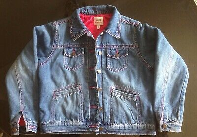 Girls Next Lined Denim Jacket Age 9/10 Years