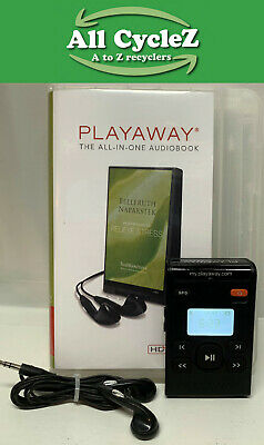 PLAYAWAY-Relieve Stress-HD Audio Book Good Playable Condition