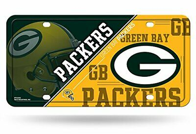 Green Bay Packers Team Logo Car Auto License Plate Tag Nfl Football New Free S&H