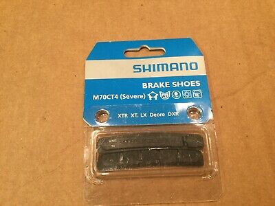Shimano cantilever brake shoe cartridges M70CT4. Severe. 3 pair. New In Box