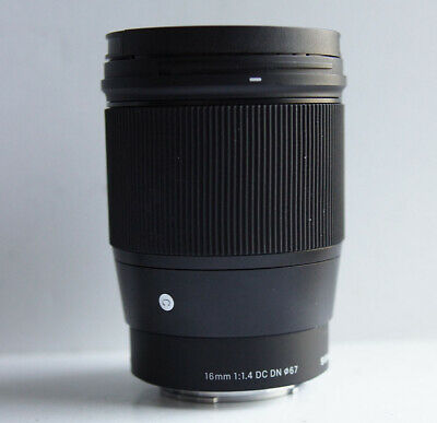 Sigma 16mm f/1.4 DC DN Contemporary Lens for Sony E Mount #2