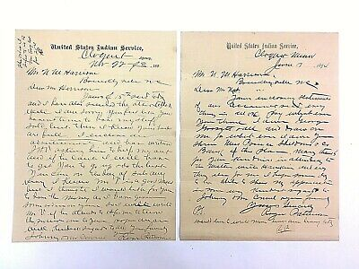 United States Indian Service Documents Letters History