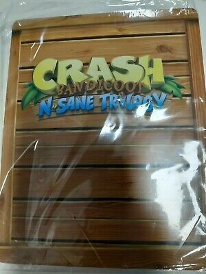Crash Bandicoot Steelbook Case - CASE ONLY
