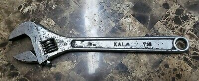 "Vintage Kal 718 Adjustable Wrench 18"" Long Drop Forged Japan FREE SHIPPING!"