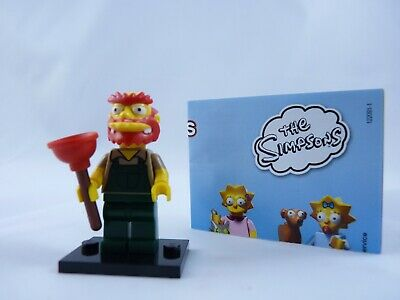 The Simpsons Series 2 LEGO Collectible MiniFigure #08 Sealed! Martin Prince