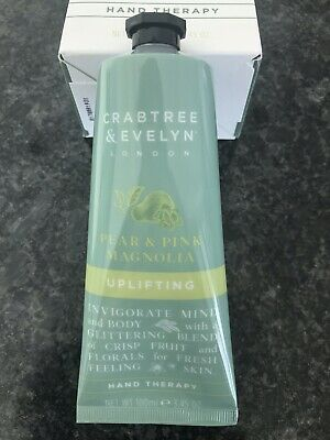 BRAND NEW Crabtree and Evelyn Hand Cream (Pear and Pink Magnolia) 100ml