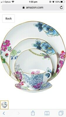 NEW Wedgwood Butterfly Bloom 5 Piece Place Set Bone China