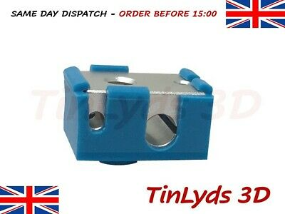 3D Printer Bowden Extruder Heat Block And Silicone Sock Suitable For HT-NTC 100K