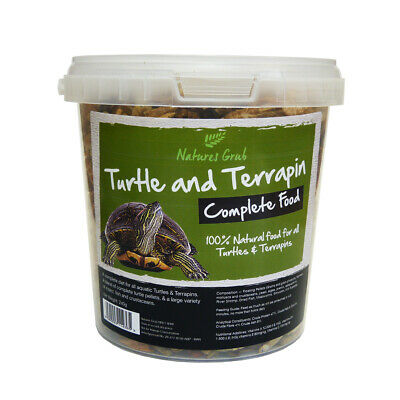 Reptile World Turtle & Terrapin Complete Food Mix - All in One Complete Diet