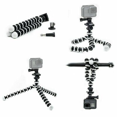 Tripod Mount Stand Octopus Flexible For GoPro Hero 7 6 5 4 3 Action camera Top