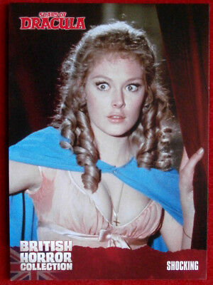 BRITISH HORROR COLLECTION - Scars Of Dracula - SHOCKING - Card #16