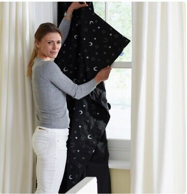 The Gro Company Stars and Moons Gro Anywhere Portable Blackout Blind Travel