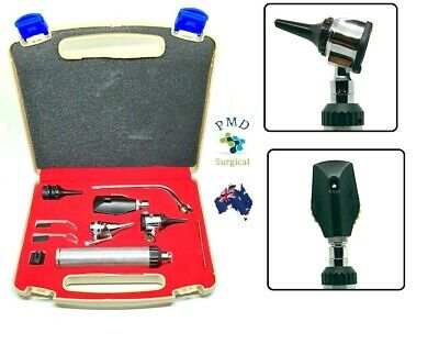 ENT Opthalmoscope Ophthalmoscope Otoscope Nasal Larynx Diagnostic Set