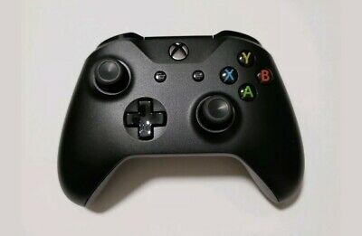 Black Official Microsoft Xbox One Wireless Controller Model 1537 Tested