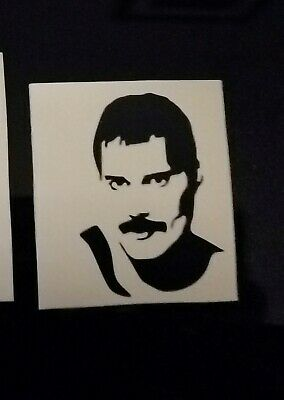 walls Freddie mercury vinyl decal For glasses crafts etc
