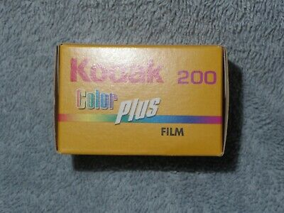 KODAK Colour Plus 35 mm ISO 200 24 exposure print film EXPIRED
