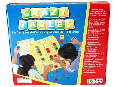 Crazy Tables Times Tables Multiplication Interactive Learning Educational Game