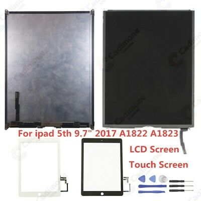 """LCD Display Touch Screen Digitizer For Ipad 5th 9.7"""" 2017 A1822 A1823 MEMOCA"""