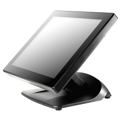 "POSIFLEX 15"" LCD PCAP Touch Monitor Black USB"