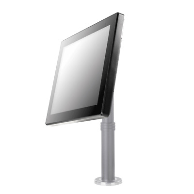 "POSIFLEX 15"" LCD PCAP Touch Monitor USB Black no Stand"