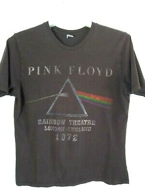 Pink Floyd Brown Rainbow Theatre London England 1972 Graphic T-Shirt Top