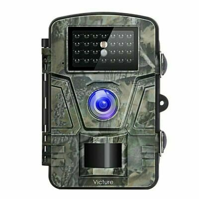 Victure Trail Game Camera with Night Vision Motion Activated 1080P 12MP Hunting
