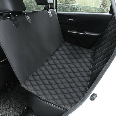 New Waterproof Dog Car Seat Cover Hammock Cat Pet Van Back Rear Bench Pad Black