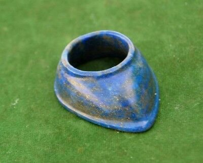 Ottoman indian mughal style Lapis Lazuli archer ring archery qing dynasty