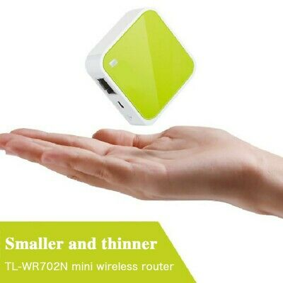 1x 5 in 1 TP-Link TL-WR802N N300 Wireless WiFi Portable Nano Travel Router USA