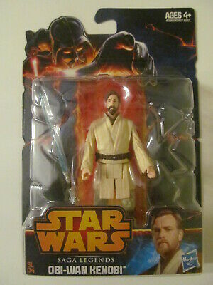 Star Wars - Saga Legends - Obi-Wan Kenobi - 3.75 Inch Figure - Loose Seal