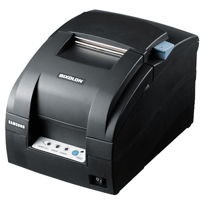 Bixolon SRP275III SER/USB/ETH A/CUT BLK Dot Matrix Receipt Printer