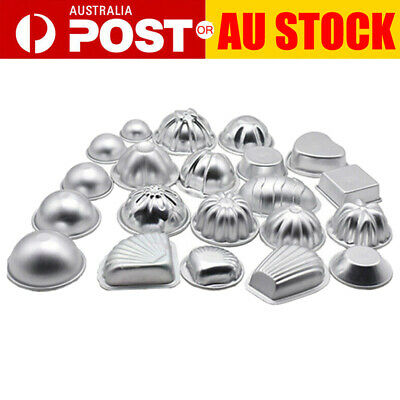 12pcs/Set Aluminum Alloy Bath Bomb Molds Moulds DIY Homemade Crafting