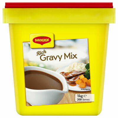 New Maggi Classic Rich Gravy Mix 1kg Made in New Zealand