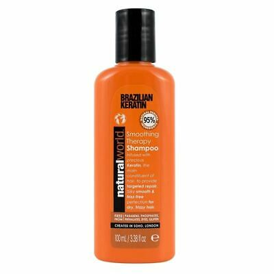 Keratine monde naturel bresilien Lissage Therapy 100ml