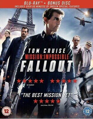 Mission: Impossible - Fallout Blu-Ray (2018) BRAND NEW SEALED 2 DISC