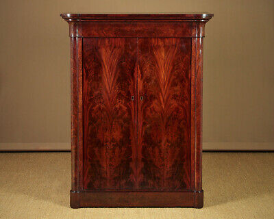 Antique Beidermeier Cabinet with Drawers c.1820.