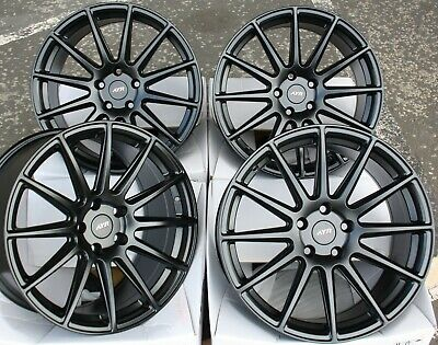 "18"" Black 02 Alloy Wheels Fits Audi A6 C4 C5 C6 C7 S6 Saloon Avanti A8 S8 5X112"