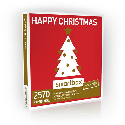 Buyagift Happy Christmas Gift Experiences - 2570 experiences for one or two for