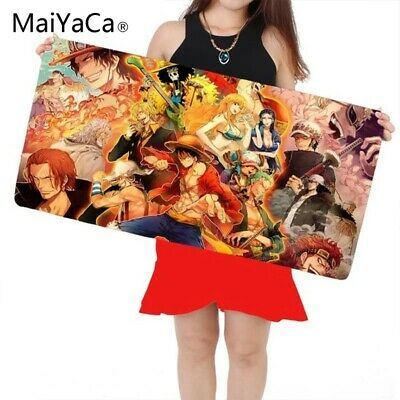 One Piece Gaming Mouse Pad Large Cartoon Anime Rubber for Gamer Mouse Pad...