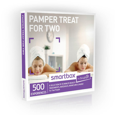 Buyagift Pamper Treat for Two Gift Experiences - 500 beauty and relaxation for