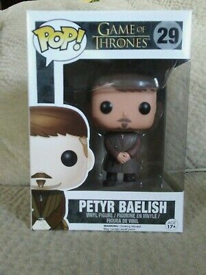 Funko Pop! Game of Thrones #29 Petyr Baelish Littlefinger Vaulted Retired Figure